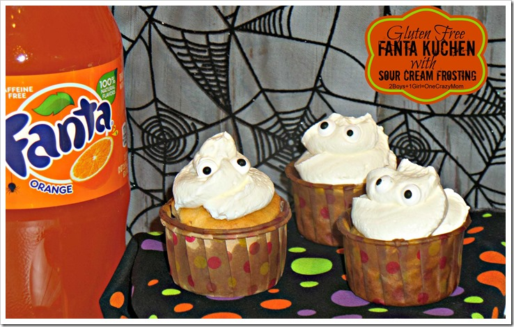Bring Gluten Free Fanta Kuchen #SpookySnacks to your next Halloween Party it will be an eye catching treat #Recipe