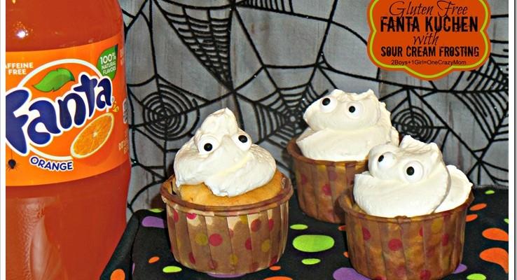 Bring Gluten Free Fanta Kuchen #SpookySnacks to your next Halloween Party it will be an eye catching treat #Recipe