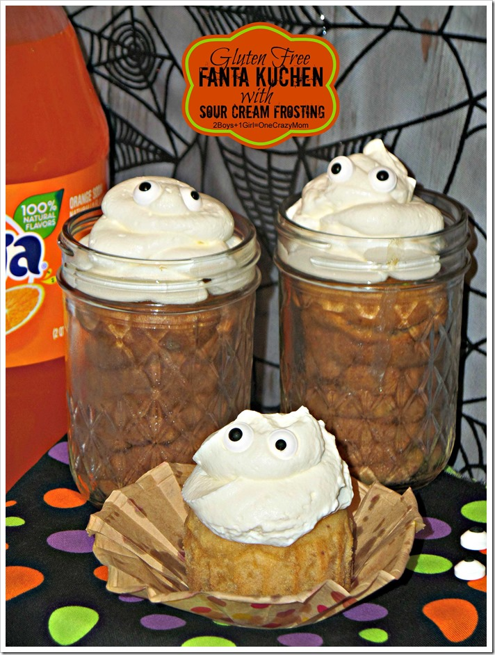 Bring Gluten Free Fanta Kuchen #SpookySnacks to your next Halloween Party it will be an eye catching treat #Recipe #Shop