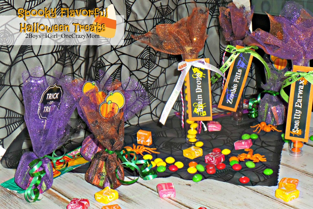 Make Halloween #SweetOrTreat a fun one this year with some simple Treat craft ideas with Free Printable