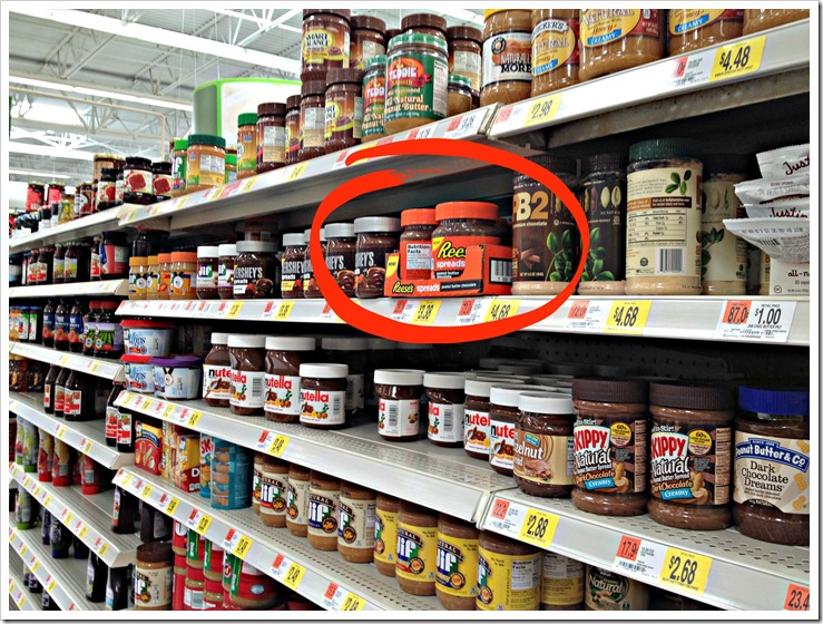 I found Reese's spreads at walmart #ad