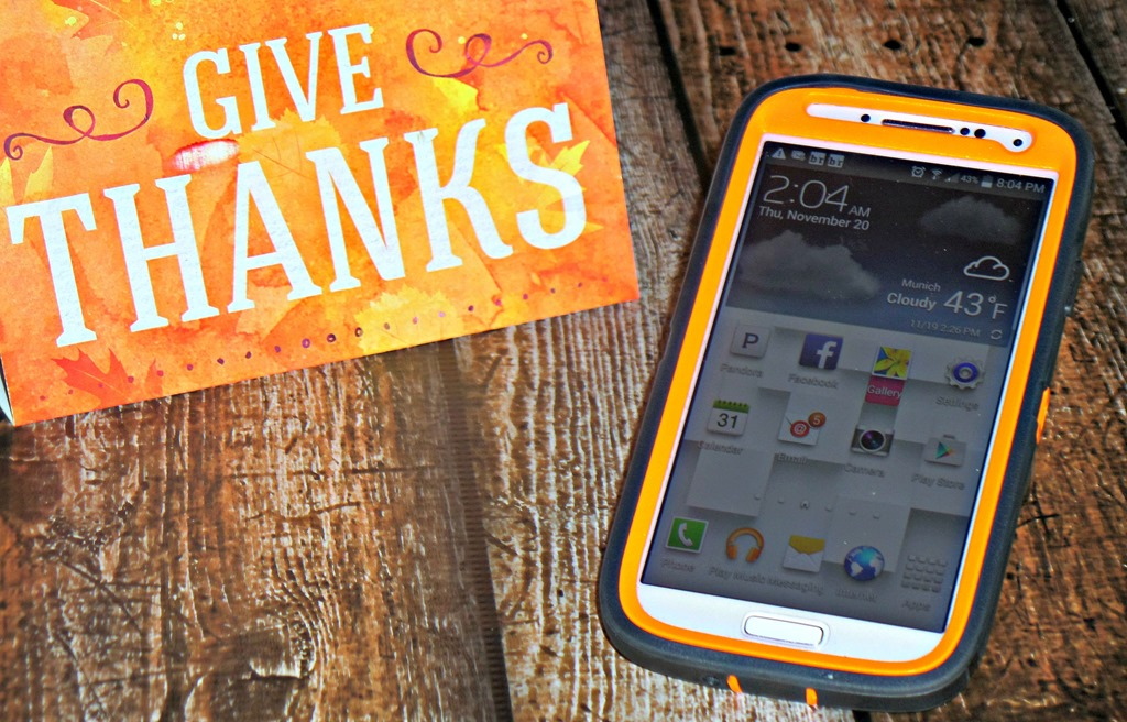 We are #Thankful4Savings with the unlimited talk text and data/web plan from Family Mobile