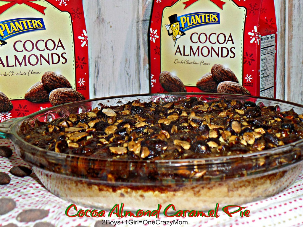 My Family #GoNutsForNuts when I dish up the Cocoa Almond Caramel Pie during the holiday Season #recipe