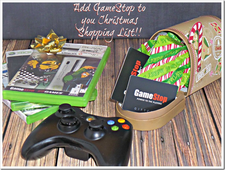 Don't forget to plan a stop at GameStop during your Christmas shopping this year #JoyToThePlayers