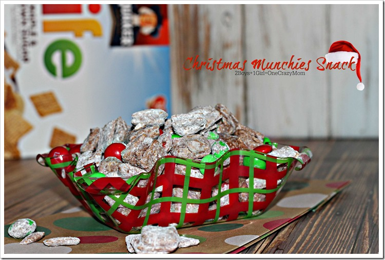 Christmas Munchies #Recipe #LoveMyCereal #QuakerUp #spon 1