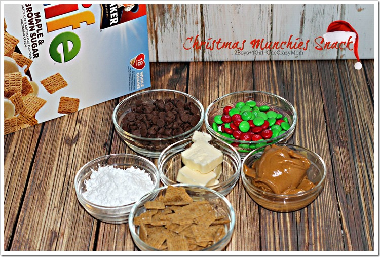 Christmas Munchies #Recipe #LoveMyCereal #QuakerUp #spon 4