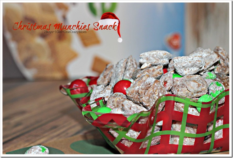 Christmas Munchies #Recipe #LoveMyCereal #QuakerUp #spon