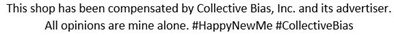 Discloruse #HappyNewMe #CollectiveBias