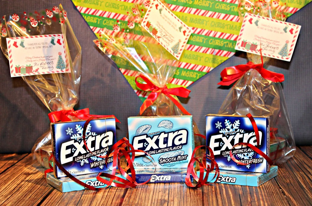 We are sharing some #ExtraGumMoments with a special person this Holiday Season because they always give extra