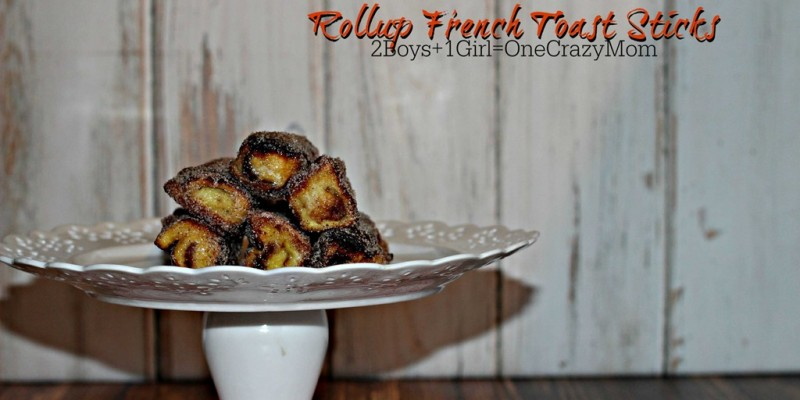 French Toast Rollups make a simple Christmas Breakfast idea #Recipe
