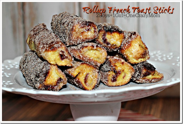 French Toast Rolls #Recipe So Simple perfect for #Christmas perfect for a big crowed