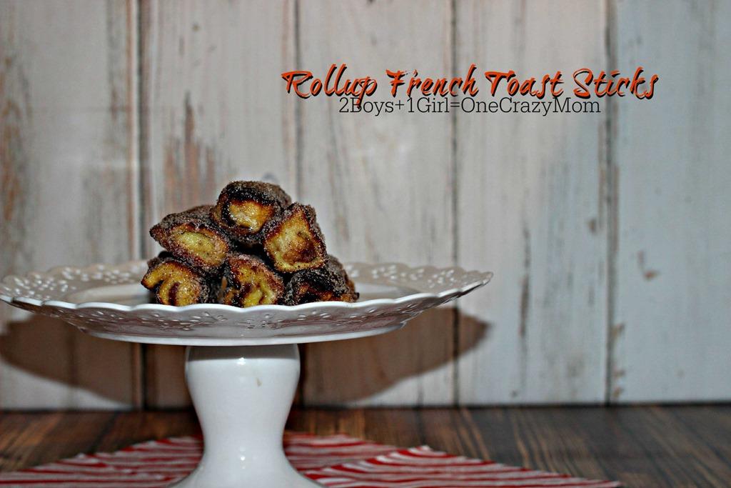French Toast Rollups make a simple Christmas Breakfast idea #Recipe