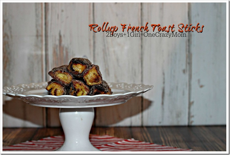 French Toast Rolls #Recipe So Simple perfect for #Christmas