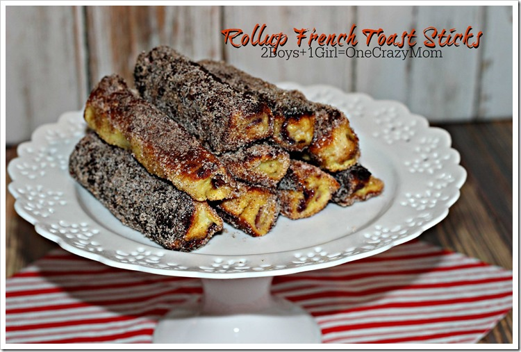 French Toast Rolls #Recipe are so simple