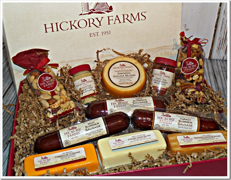 Don't forget to include Hickory Farms in your gift giving this Christmas