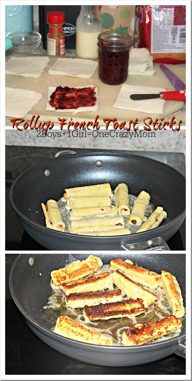 Simple French Toast Rollups perfect for Christmas Morning #Recipe