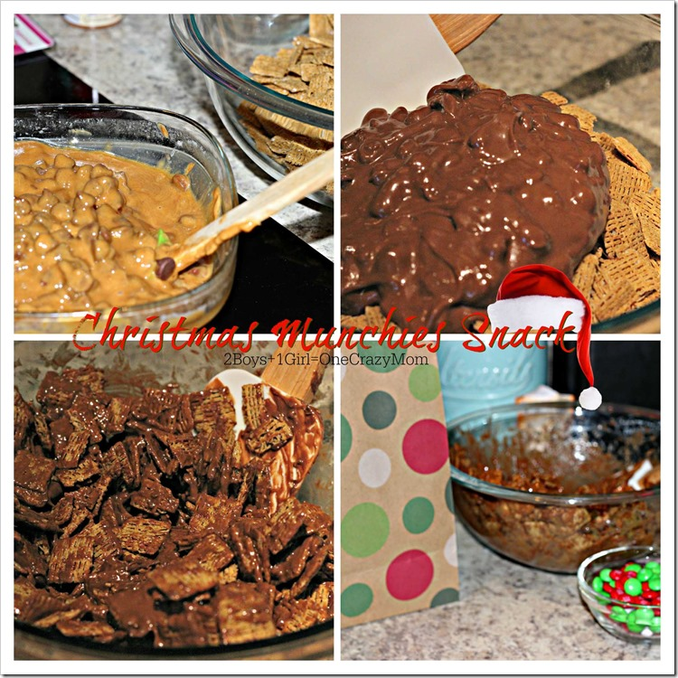 Simple way to make your Christmas Munchies Snack #REcipe