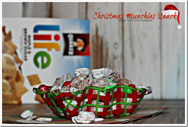 Simple way to make your Christmas Munchies Snack #Recipe #LoveMyCereal #QuakerUp #spon