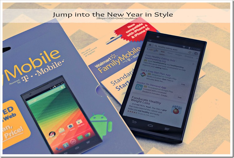 Start the #HappyNewMe with Walmart Family Mobile