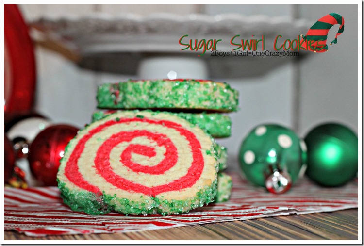 Sugar Swirl Cookie #Recipe to dish up for Christmas #SweetSwaps
