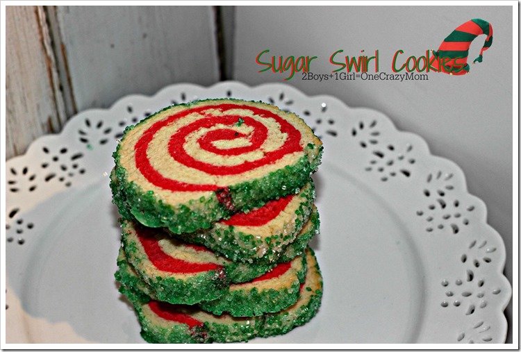 Sugar Swirl Cookie #Recipe Christmas Cookies