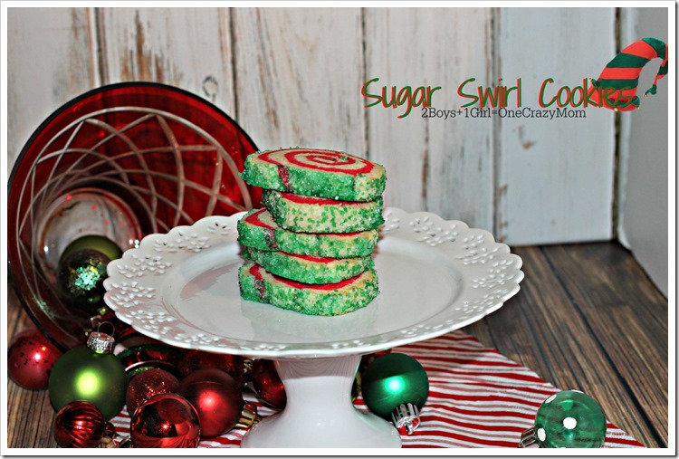 Sugar Swirl Cookie #Recipe Christmas idea