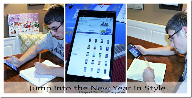The Walmart Family Mobile is perfect for Teens #HappyNewMe #ad #cbias