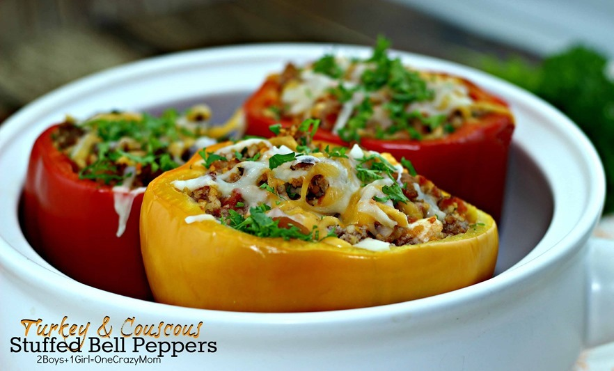 Stuffed Pepper with Turkey & Cuscus Filling #Recipe Fresh From Florida 3