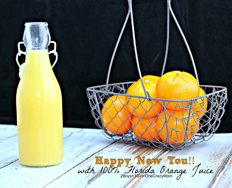 Start your day the right way with 100% Florida Orange Juice