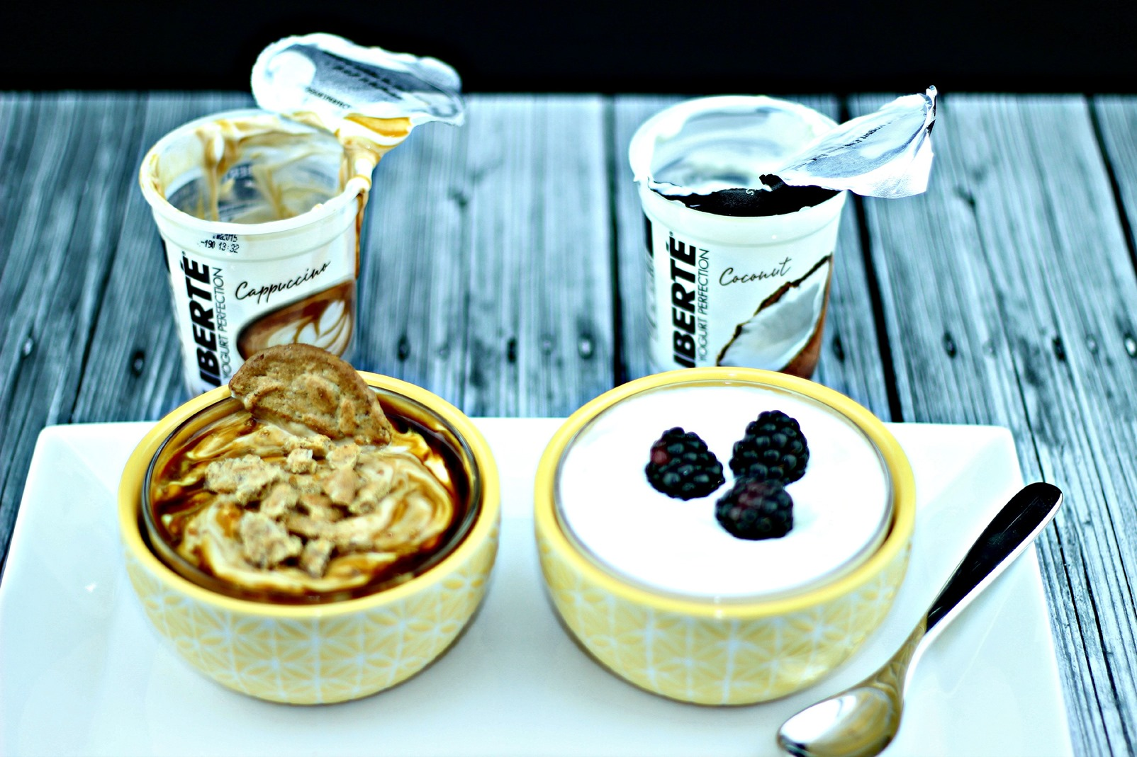Simple way to create a #YogurtPerfection in the morning with Publix Liberté yogurt