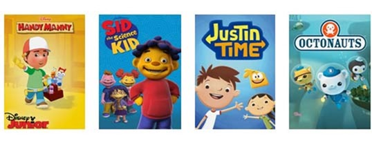 #NetflixStream Team fun shows for little ones