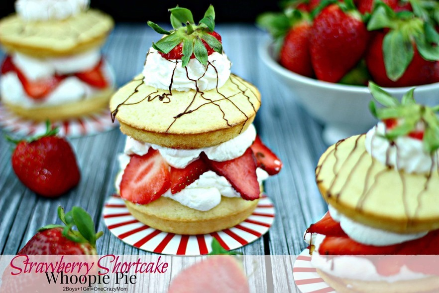 Strawberry Shortcake Fresh From Florida #Recipe YUMMY 2
