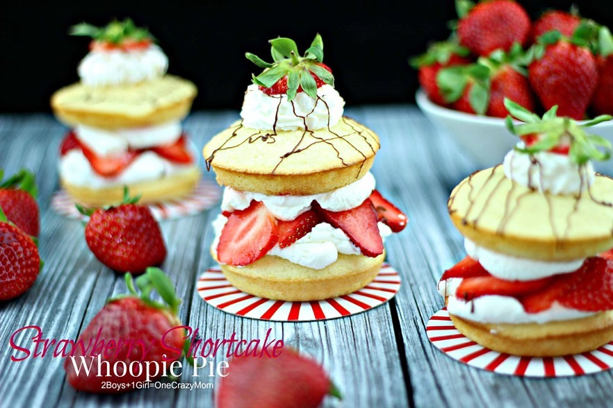 Strawberry Shortcake Fresh From Florida #Recipe