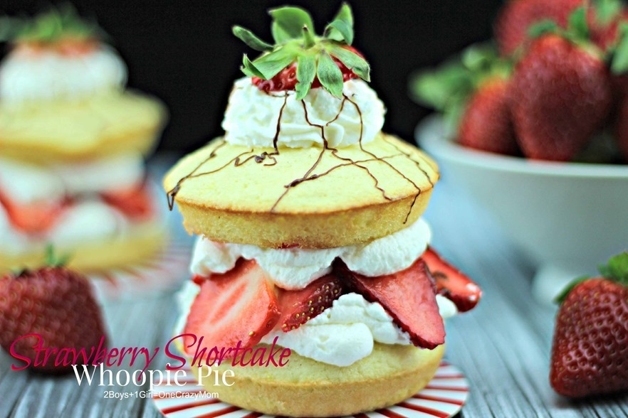 Strawberry Shortcake Fresh From Florida #Recipe could be a whoopie pie, too