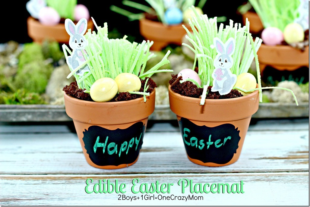 Edible Easter Table Placemat deocr #CreativeHop #Recipe idea  2 copy