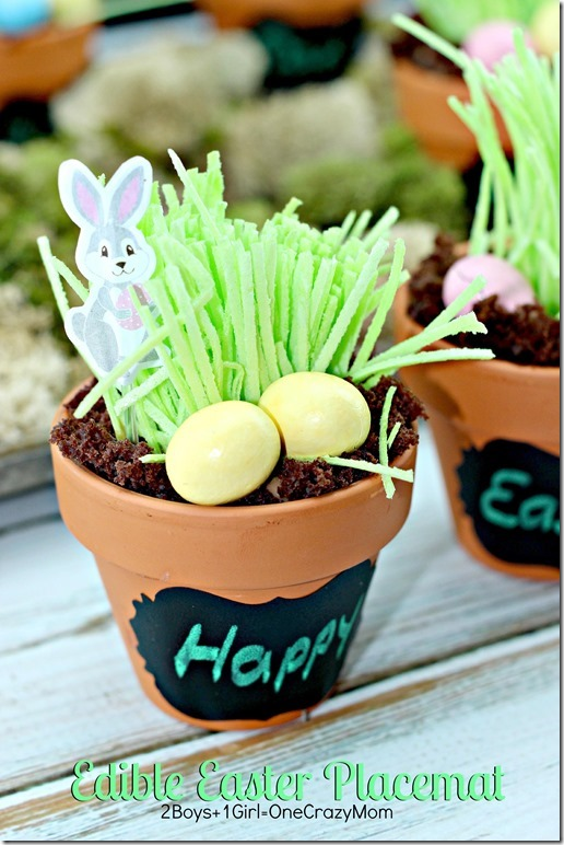 Edible Easter Table Placemat deocr #CreativeHop #Recipe idea  4 copy