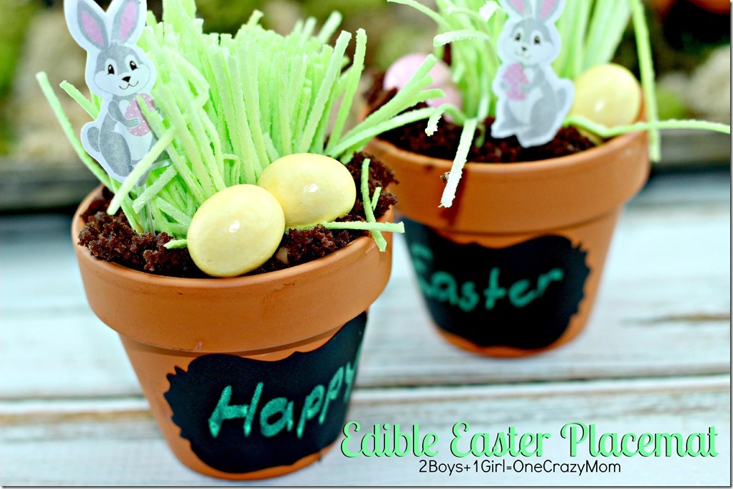 Edible Easter Table Placemat deocr #CreativeHop #Recipe idea  5 copy