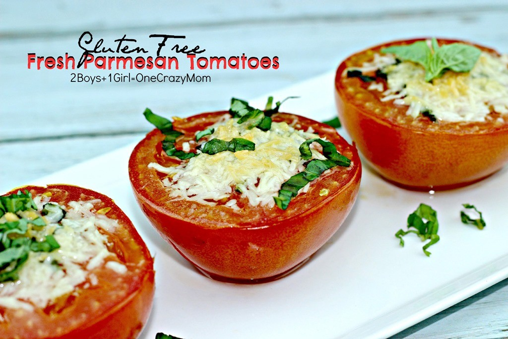 Enjoy Gluten Free Fresh Parmesan Tomatoes Fresh From Florida #Recipe