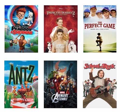 Netflix #StreamTeam March bigger kids