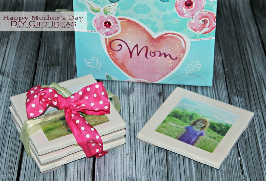 #DIY Tile coaster are simple and an affordable Mothers day gift idea #CreativeHop