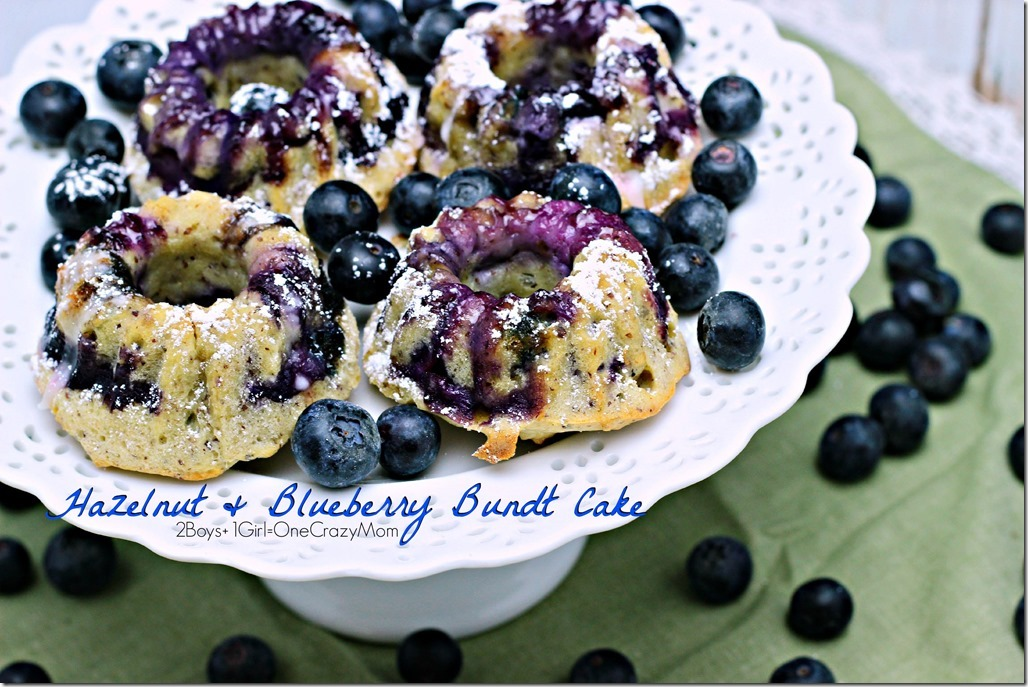 Enjoy fresh Hazelnut and Bluberry Bundt Cake #FreshFromFlorida #Recipe