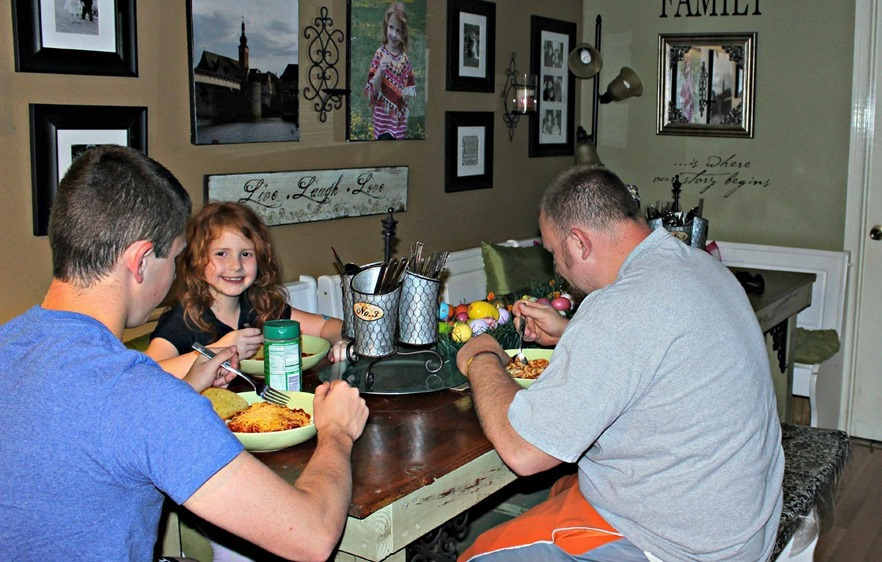 Family dinner is always #Saucesome in our home how about yours