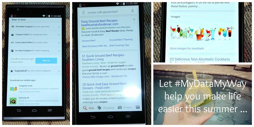 Let #MyDataMyWay help you make life easier this summer