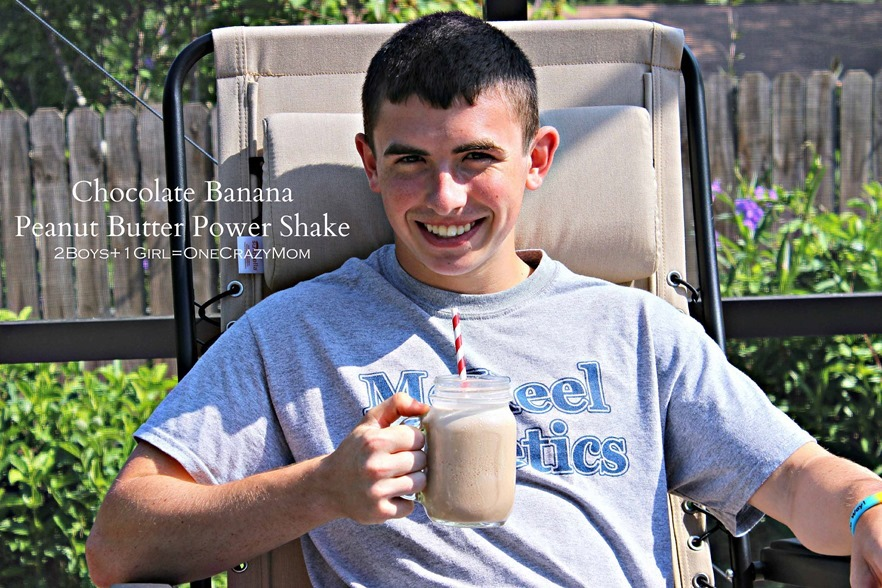 #MyGoodEnergy shake is great after a hard work out my Teen loves the #recipe