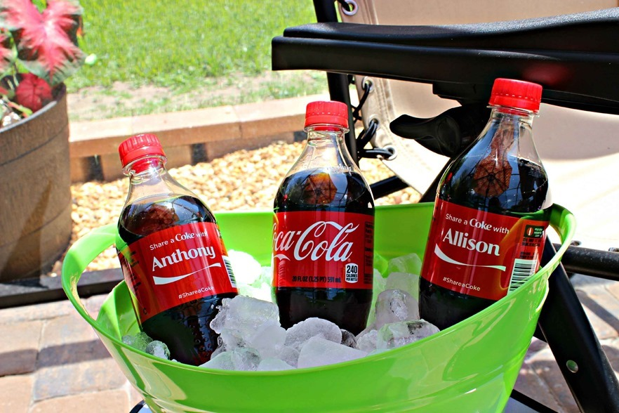 #CokeHappyHour Summer Sun and Fun
