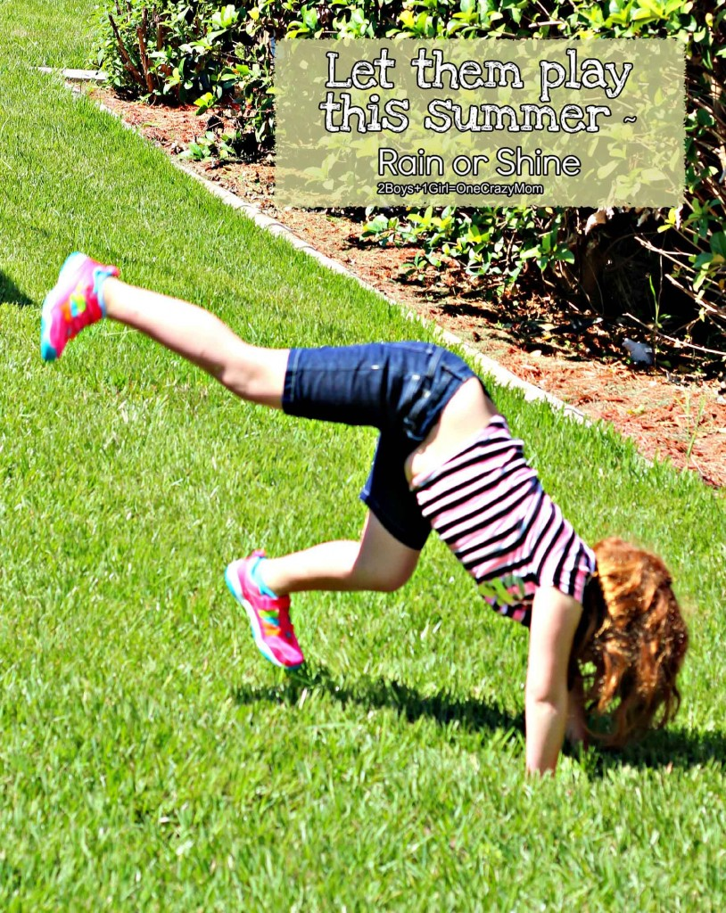 Enjoy Summer in style rain or shine with Stride Rite