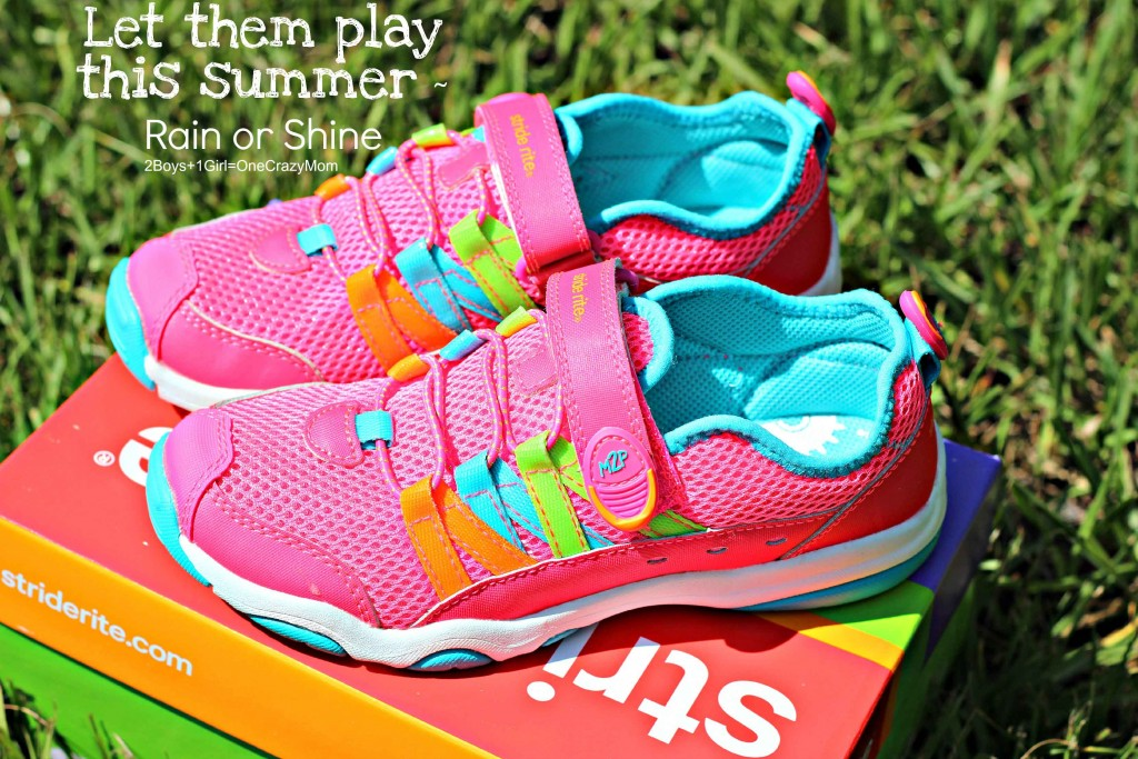 Kids can be kids with Stride Rite shoes