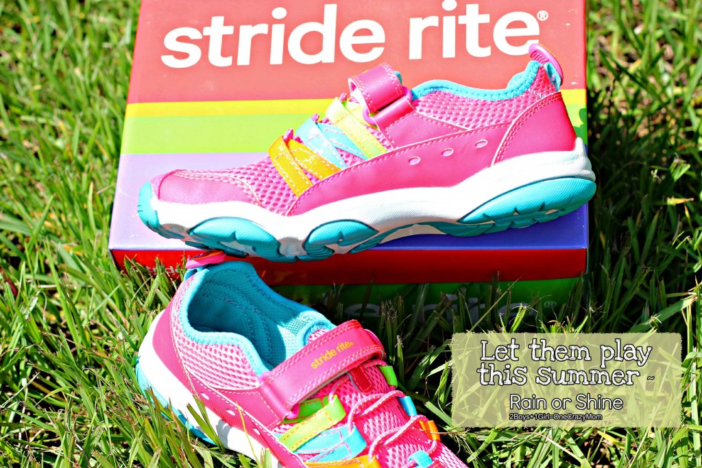 Kids can be kids with Stride Rite shoes fun