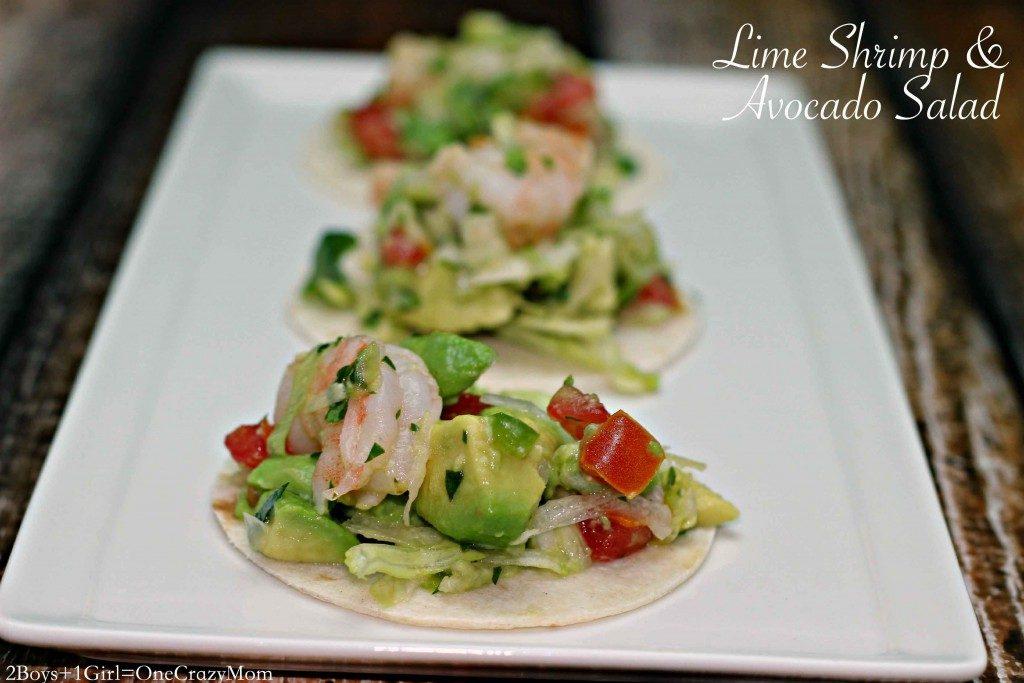 Dish up Lime Shrimp & Avocado Salad #Recipe this summer