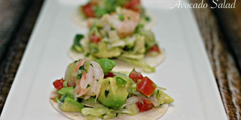 Dish up Lime Shrimp & Avocado Salad #Recipe this summer
